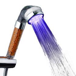 Vòi sen lọc nước đổi màu đèn Led Senziny (Tặng 1 vòi sen đổi màu)