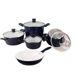 Bộ 4 nồi 1 chảo Ceramic bếp từ ILO Thịnh Vượng(1 bếp gas hồng ngoại đơn Rainy)