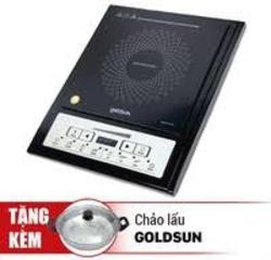[GOLDSUN] Bếp điện từ GI-M11 (kèm nồi lẩu inox) + Chảo 26cm FP-GSC426