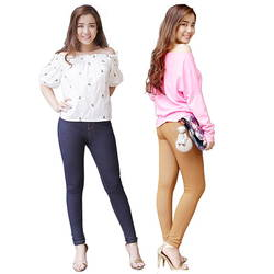 VICKY Design - Bộ 3 quần jean legging