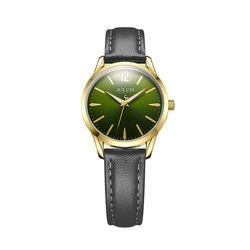 Đồng hồ nữ JULIUS Hàn Quốc chính hãng JU1207 (Đen mặt xanh)