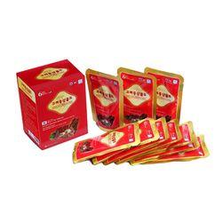 Bộ 02 hộp (60 gói) hồng sâm nước Korea Red Ginseng gold+02 lọ mật ong+05 gói nước giải rượu_14p