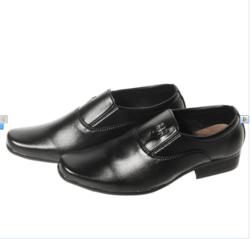 LAKA -Combo 2 giầy tây nam đế cao su tặng ( 1 dây nịt + 1 ví )