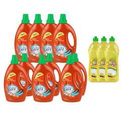 Bộ 13 chai chăm sóc nhà cửa Forecare (7 giặt+3 xả+3 rửa chén)