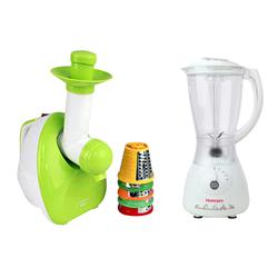 [GN]Máy làm kem và salat Schnell Koch+ Máy xay sinh tố Homepro