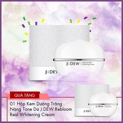 Kem Dưỡng Trắng Nâng Tone Da J:DEW (Đảo Jeju - Hàn Quốc) + TẶNG 1 SP CÙNG LOẠI