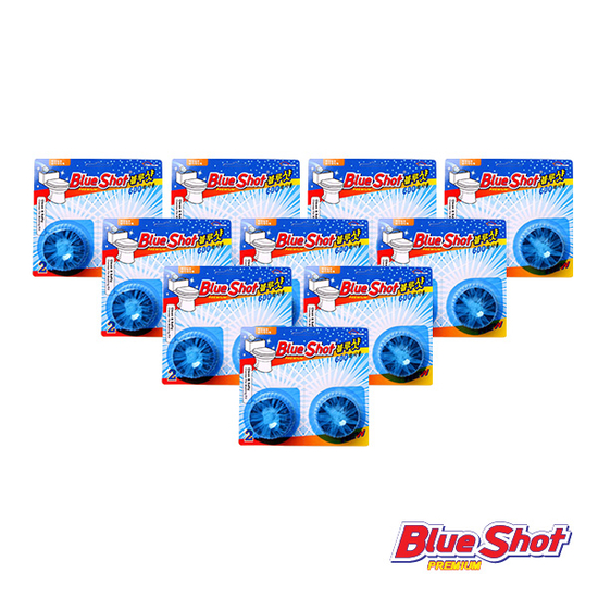 [BLUESHOT]Bộ 20 viên vệ sinh bồn cầu +1 gói tẩy lồng giặtHomesQueen+ 1chai tẩy đa năng Votem+3khăn