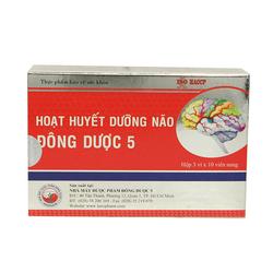 Bộ 07 hộp (30 viên/hộp) Hoạt huyết dưỡng não Đông Dược 5_mua 5 tặng 2