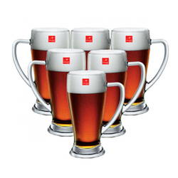 Bộ 6 ly bia thủy tinh Baviera/670mlx6
