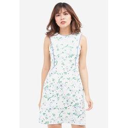 Đầm hoa bạ cúp 5DN05