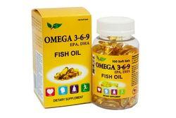 2 hộp Omega 369 (100v/hộp) + 1 hộp shark Cartilage (60v)