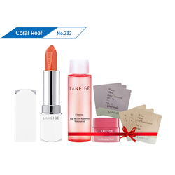Son thỏi sắc nét Laneige Silk Intense Lipstick #232 Coral Reef