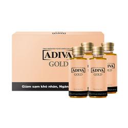 [GN]2 Hộp tinh chất làm đẹp collagen Adiva Gold + 01 hộp (8 lọ) White Adiva
