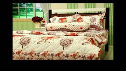 AIR WEAR BED - Chăn Drap 1m8 - SẮC HOA MÙA HÈ (tặng 2 ruột gối nằm + 1 drap) new