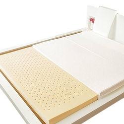 Nệm cao su nhân tạo Vina Home (1m6*2m*9cm) + 3 gối+ 1 bộ drap + 1 mền