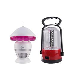 [COMET] Bộ combo đèn diệt côn trùng CM038 + Đèn sạc 32 bóng LED CM8527