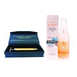 Combo Máy massage 3D+Xịt khóang dưỡng ẩm bổ sung collagen