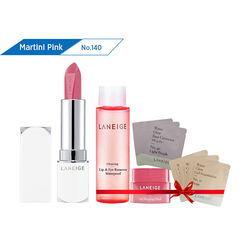 Son thỏi sắc nét Laneige Silk Intense Lipstick #140 Martini Pink