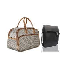 Combo Túi du lịch hoa văn xách tay LAKA + Túi đeo chéo hộp LAKA