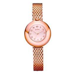 Đồng hồ nữ Julius vàng đồng JA-772