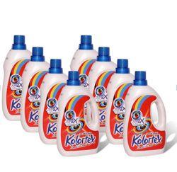 Bộ 8 chai nước giặt + 4 chai nước xả chống lem màu Tặng: 1 cầm màu, 1 lau sàn, 1 lau đa năng