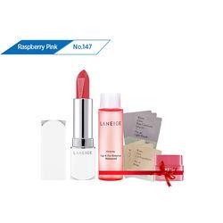 Son thỏi sắc nét Laneige Silk Intense Lipstick #147 Raspberry Pink