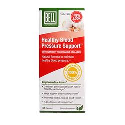 02 hộp (60 viên/hộp) hỗ trợ huyết áp BELL + 1 gói kẹo sâm 500gr + 10 chai nước hông sâm
