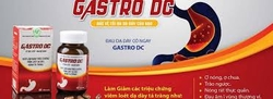 Bộ 03 hộp (60 viên/hộp) Viên uống hỗ trợ dạ dảy Gastro DC+ 01 hộp (40 viên) kẹo ngậm không đường