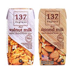 [GN]137 Deress_18 hộp sữa hạnh nhân+ 18 hộp sữa óc chó 180ml