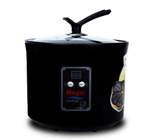 [MAGIC] TT - Máy làm tỏi đen chuyên dụng A69  + Bộ 5 thố thủy tinh + Bộ dao kéo 5 món