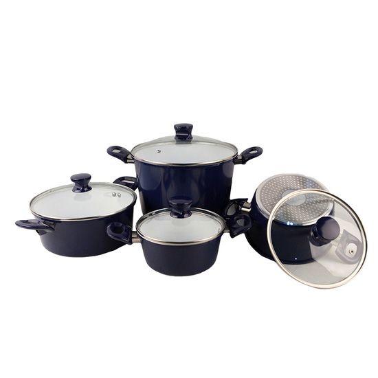 (Giảm 400K) Bộ 4 nồi 1 chảo Ceramic bếp từ ILO Thịnh Vượng