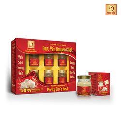 10 lốc nước yến nguyên chất Song Yến (7+3) + 10 gói cháo tổ yến thịt bằm