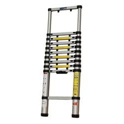 Thang nhôm rút gọn đơn Sumo 13 bậc (mở cao 3.8m)