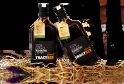 Tracybee _02 chai (600ml/chai)Mật ong Chôm Chôm+2hủ mật ong cà phê 189ml / hủ+1 lọ phấn hoa+1 hộp gỗ