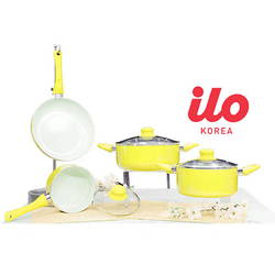 Bộ 3 nồi + 1 chảo Ceramic ILO