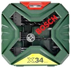 [BOSCH] Bộ khoan GS550 + bộ mũi khoan X34