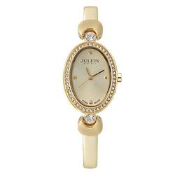 Đồng hồ nữ Julius dây nhũ vàng JA-313