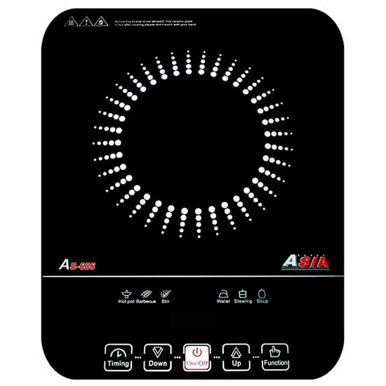 [ ASIA ] Bếp điện từ Asia AS - 686 + Bộ 3 nồi Inox