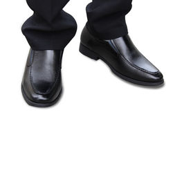 Giày tây nam da thật màu đen VNL