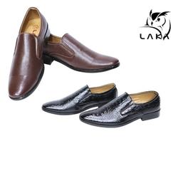 LAKA-2 giày tây da simili tặng dây nịt+ví đồng bộ