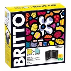 Bộ lắp ghép BRITTO BLOCK & PAPER FRAME FLOWER  BP3428