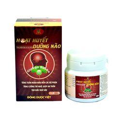GHN_10 hộp (7+3) họat huyết dưỡng não Đông Dược Việt+01 hộp sâm viên Korean Ginseng Linhzhivit Gold