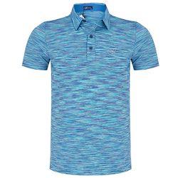 Áo polo nam vải Eclat KI241703-BL466 xanh dương