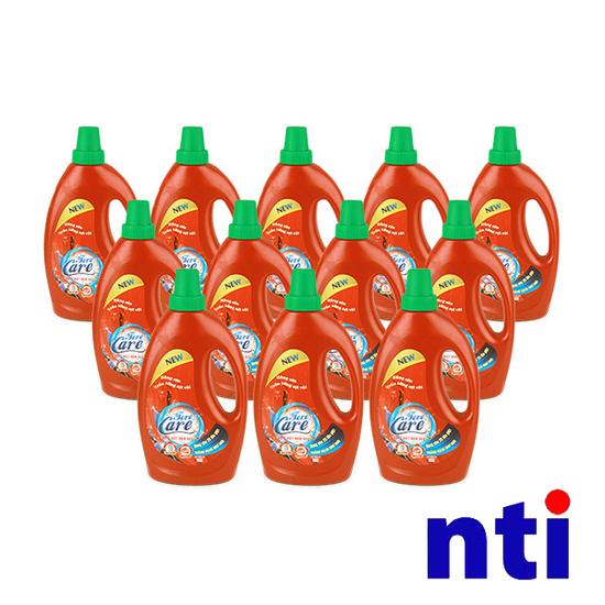 NTI-Bộ 12 chai Nước giặt Forecare + 6 quà tặng