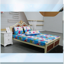 AIRWEARBED - 3 bộ Drap thun lạnh Hương Mùa Hè (1m6 x 2m x 25cm) +Tặng 1 mền 180*200 màu ngẫu nhiên