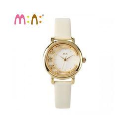Đồng hồ Mini Hàn Quốc MN2055 màu vàng
