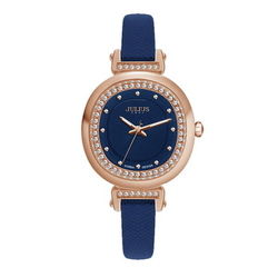 Đồng hồ Julius màu xanh đen JA-843