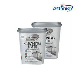 Bộ 2 hộp chất tẩy rửa nhà bếp và các loại bề mặt chuyên nghiệp Astonish