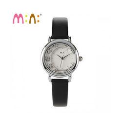 Đồng hồ Mini Hàn Quốc MN2055 màu đen