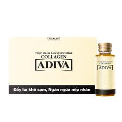 Adiva_02 hộp (14 lọ/hộp) collagen + 02 hộp (14 lọ/hộp) White Adiva_Live